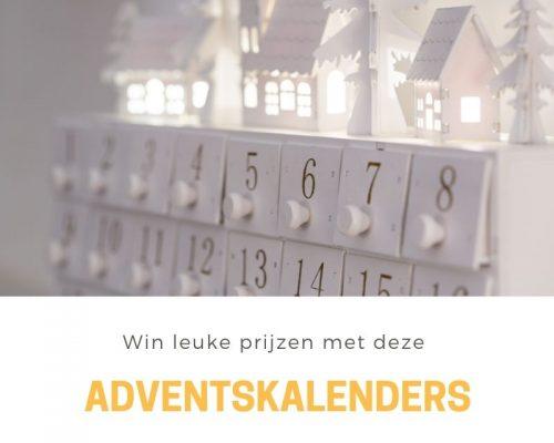 Win leuke prijzen met deze adventskalenders