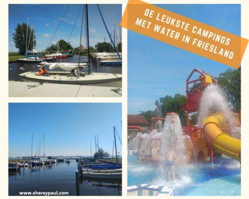 De leukste campings aan het water of met zwembad in Friesland
