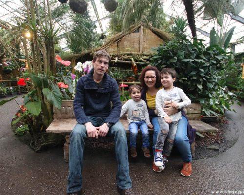 Orchideeën Hoeve met kinderen