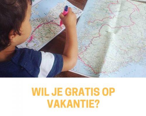 Wil je gratis op vakantie?